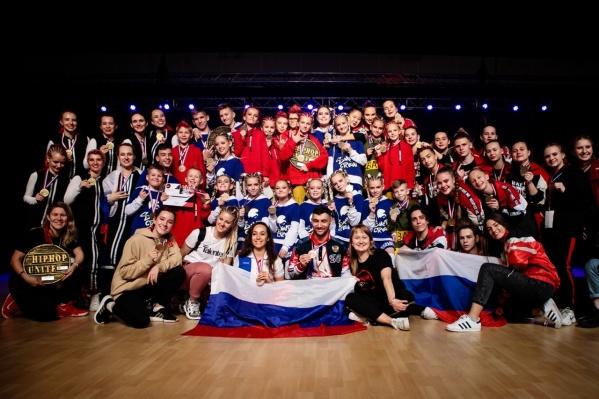 Российская команда стала лучшей в мире по хип-хопу