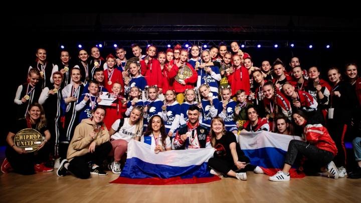 Красноярские танцоры собрали все медали на мировом чемпионате по хип-хопу