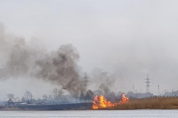 По данным краевого ГУ МЧС, за выходные в Канске и Канском районе зарегистрировано 6 возгораний