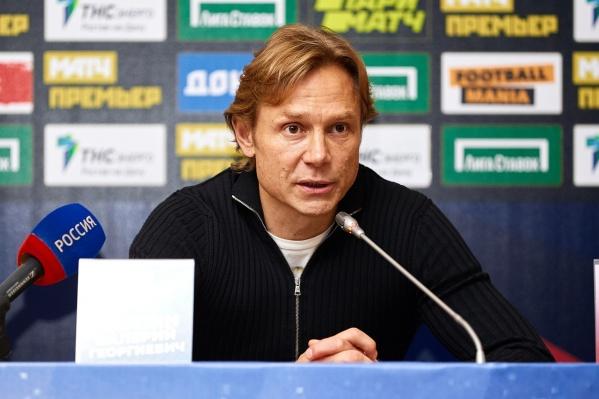 Валерий Карпин хочет скорректировать игру команды в ближайшее время