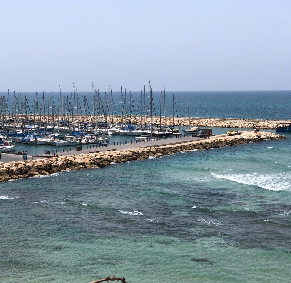 Причал для яхт в Тель-Авиве