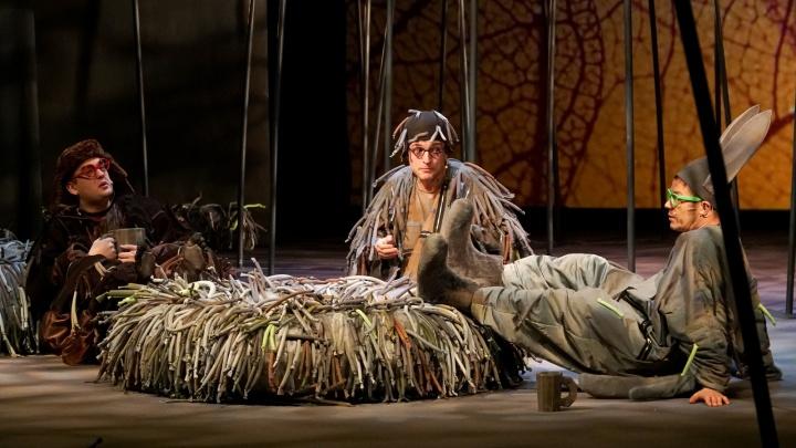 На сцене создали макромир: в Пермском ТЮЗе покажут спектакль «Сказки про Ёжика в тумане»
