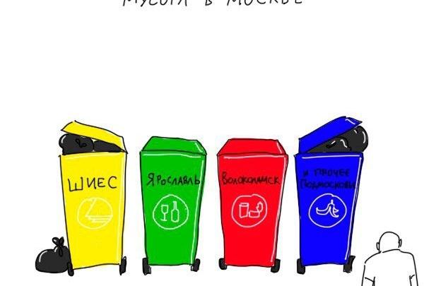 «Это несправедливо»: популярный художник посвятил Ярославлю (и не только) мусорную карикатуру