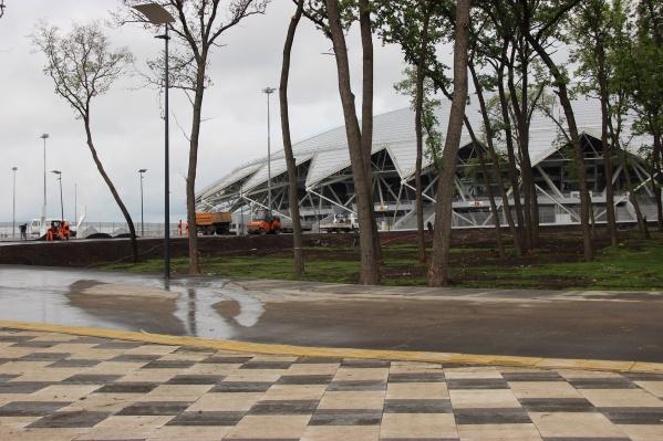 Стадион строили специально к ЧМ, но планируют использовать и после