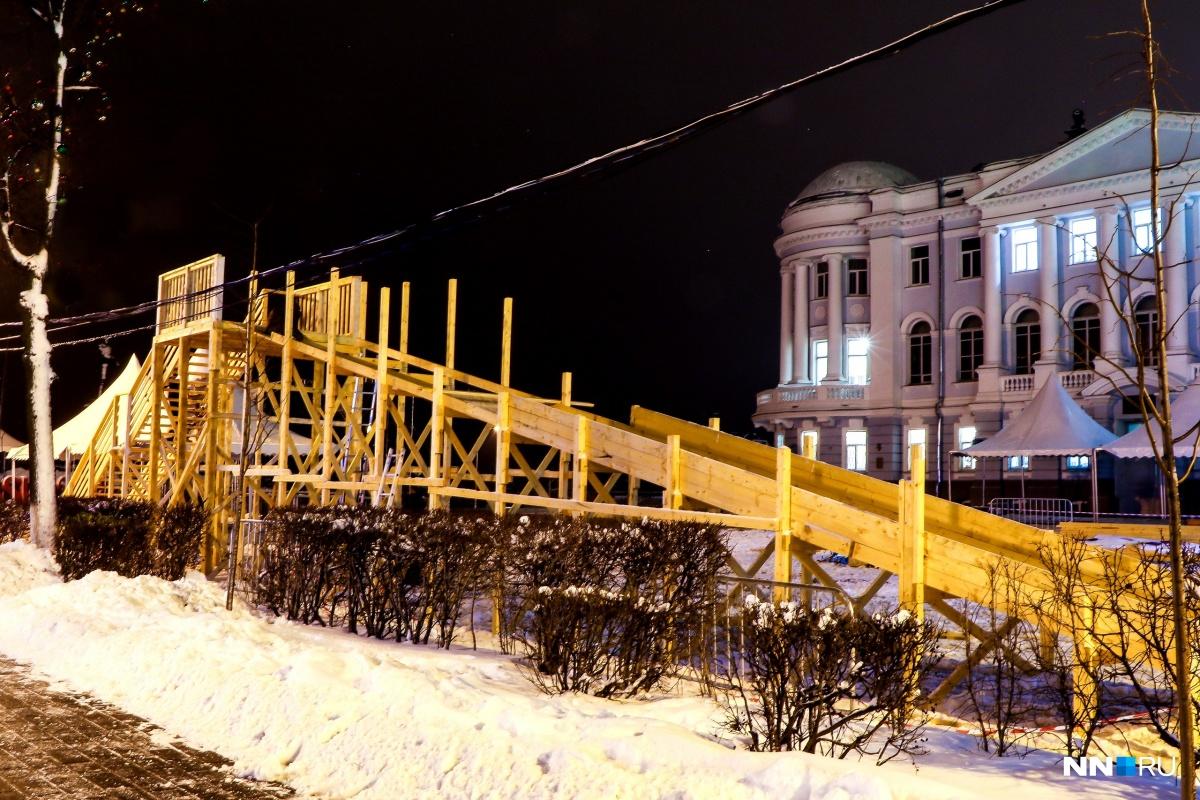 Завтра вНижнем Новгороде откроется центральная площадка фестиваля «Горьковская елка»