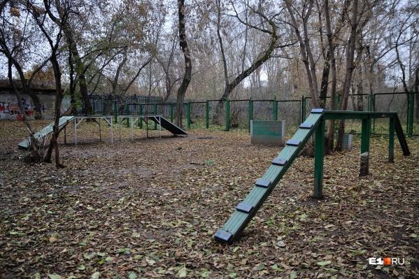 Парк будут обустраивать полтора года