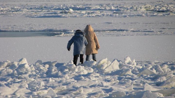 «Даже ноги не замочил»: бравый капитан спас школьника с дрейфующей льдины в Волгограде