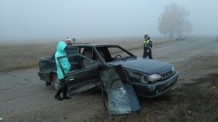 В Башкирии машина въехала в группу школьников, переходивших дорогу