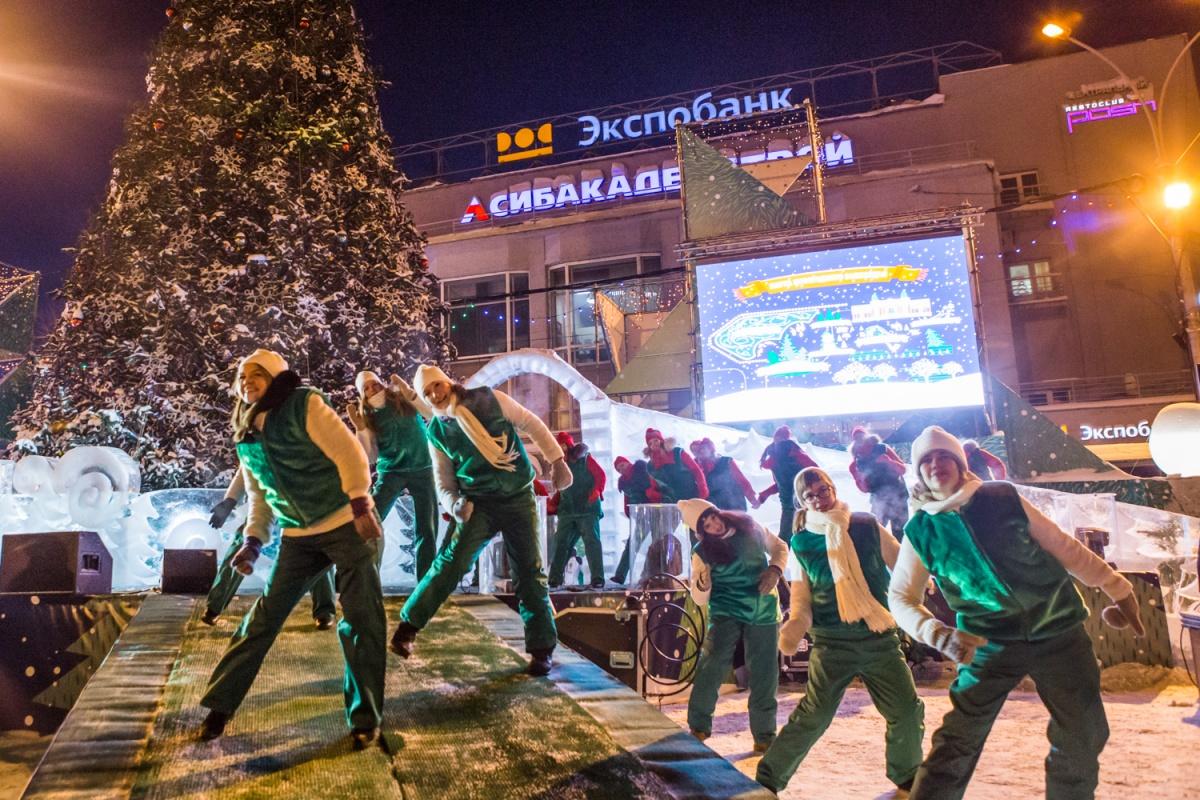В этом году городок на площади Ленина будет посвящён театру