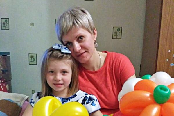 Светлана со своей дочерью Ульяной