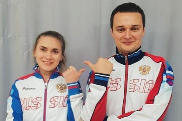 Дарья Вдовина уже выступала с Владимиром Масленниковым на международных соревнованиях. Например, год назад на чемпионате Европы, где они взяли золото