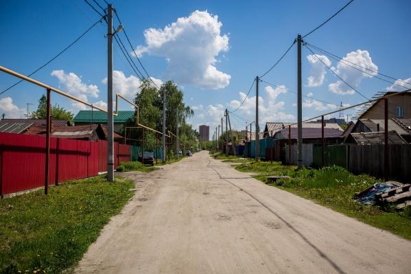 Улица Большая была центральной в деревне Большое Кривощёково