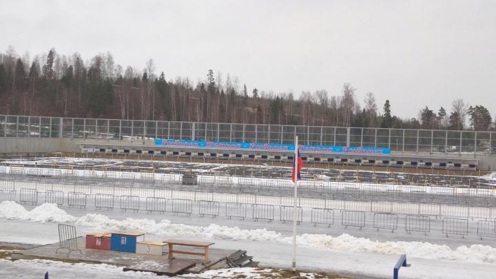 Таял намороженный снег: в Рыбинске отменили чемпионат России по биатлону