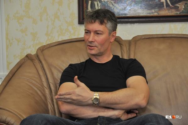 Евгений Ройзман хочет собрать деньги на свою кампанию по выборам через краудфандинг