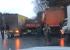 «На Шефской столкнулись шесть грузовиков и автобус»: из-за гололеда в Екатеринбурге десятки ДТП