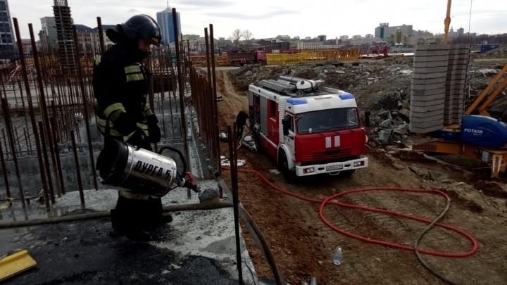 Прокуратура из-за пожара проверит качество строительства конгресс-холла в Челябинске