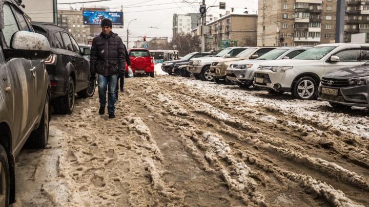 Новосибирск пережил самый теплый день декабря — смотрим, как это было