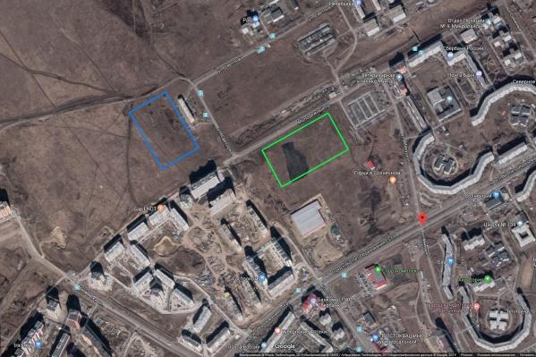 Изначально власти указывали в качестве места для нового сквера именно на этот пустырь за 3-м микрорайоном.