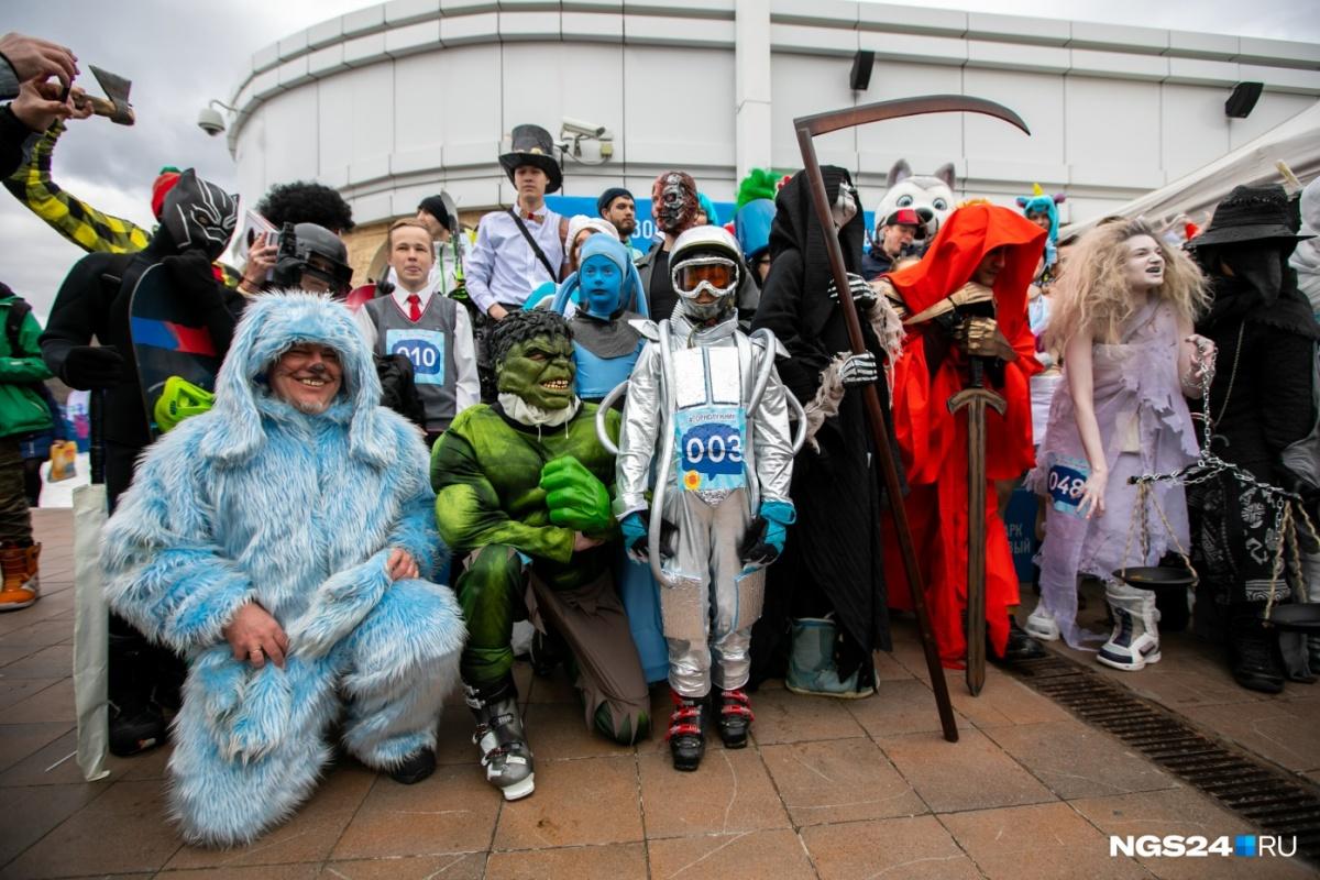 Жители Красноярска подготовили классные костюмы