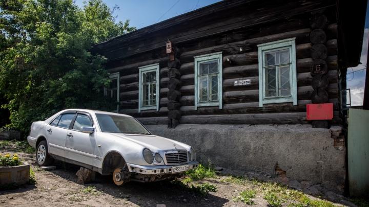 Время назад: лучшие фотографии секретной улицы, где жили самые первые новосибирцы