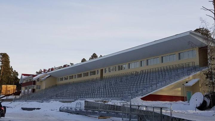 Это финиш: на Южном Урале определились со сдачей лыжно-биатлонного комплекса имени Ишмуратовой