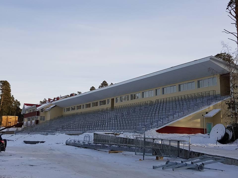 Спорткомплекс начали строить ещё в 2014 году, а обещали сдать — в 2017-м