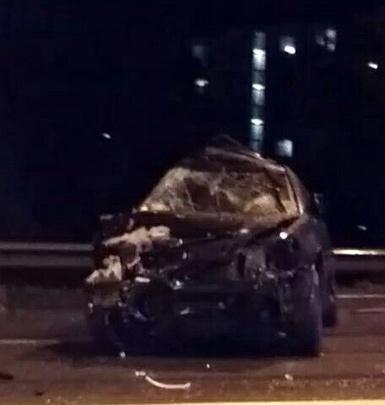Три автомобиля сошлись в жёстком ДТП на Бердском шоссе