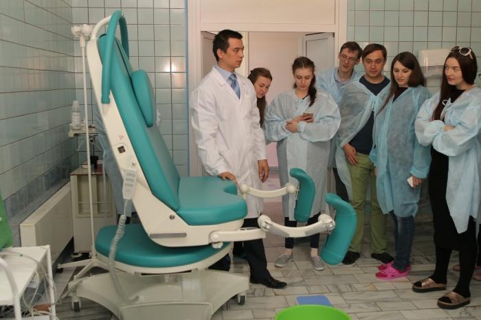 Экскурсия для беременных по роддому ЦКБ