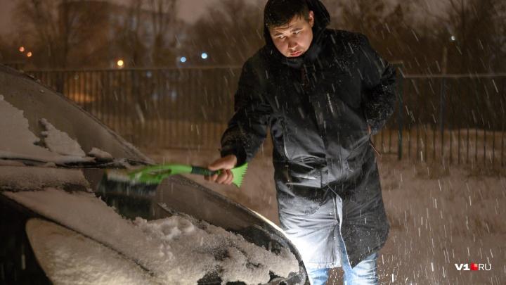 Синоптики: снегом Волгоград завалит вечером 7 января