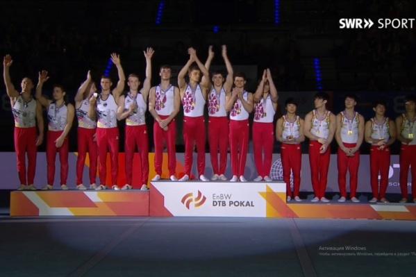 Сборная России стала триумфатором этапа Кубка мира в Германии