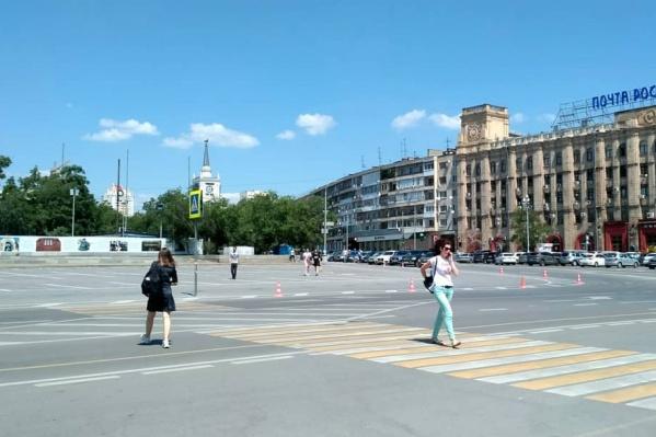 В воскресенье на главной площади Волгограда пройдет богослужение