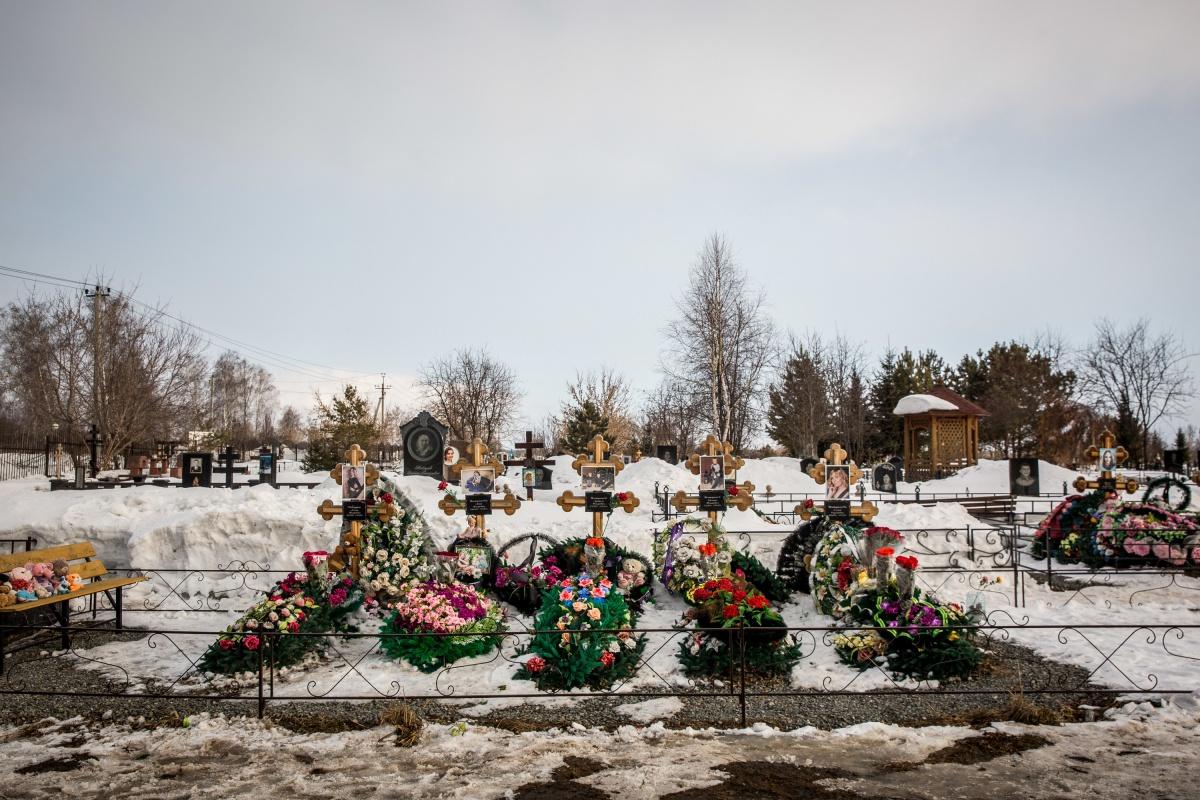 Михайловское кладбище, где похоронены близкие и родные Игоря Вострикова
