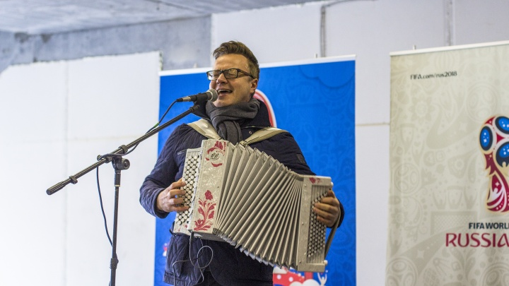 Деньги на памятник баяну в Самаре решили собрать с друзей и спонсоров Сергея Войтенко