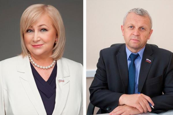 Елена Вторыгина и Андрей Палкин поддержали пенсионный законопроект