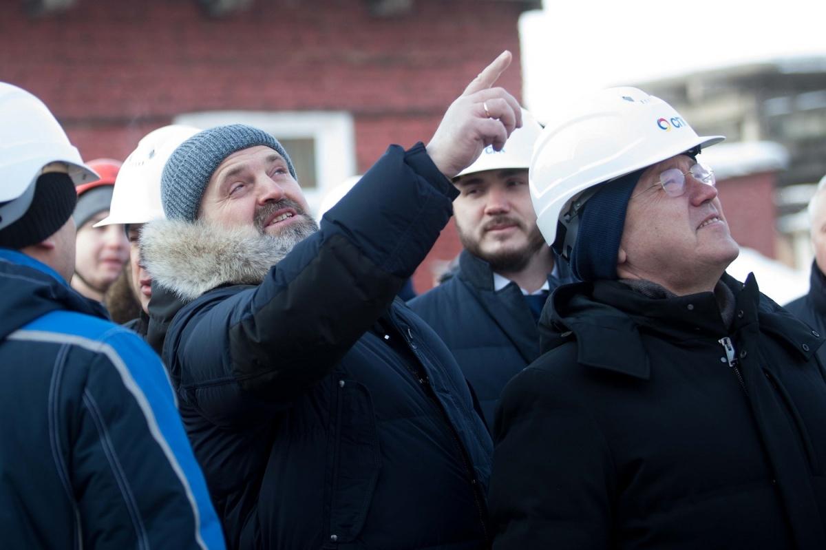 Министр экологии Сергей Донской побывал наКрасноярской ТЭЦ-1