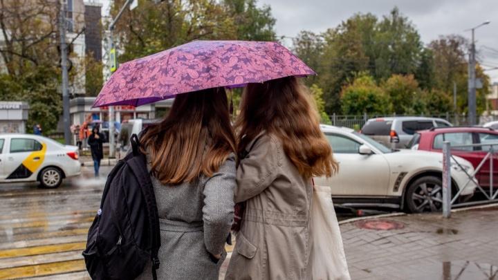 Тёплый воздух и поля дождевой облачности: синоптики рассказали, какую погоду ждать на этой неделе