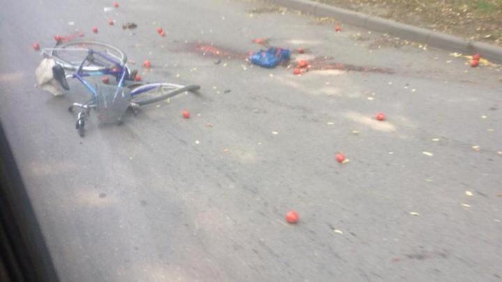 В Таганроге женщина сбила 73-летнего велосипедиста и скрылась