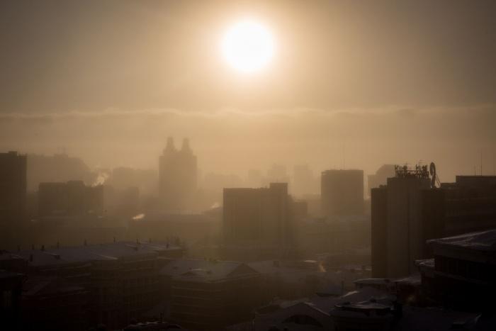 Сегодня в Новосибирске будет  –28...–30  градусов
