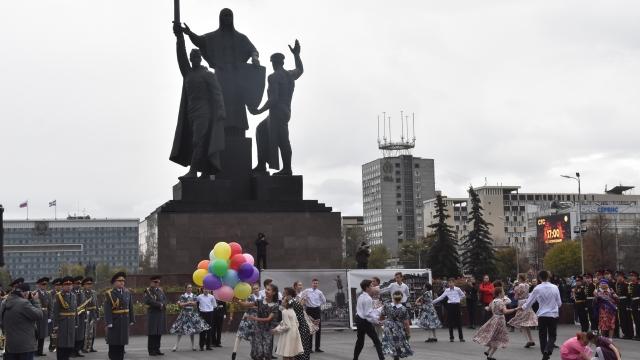 В Перми стартовал всероссийский фестиваль «Виват, кадет!»
