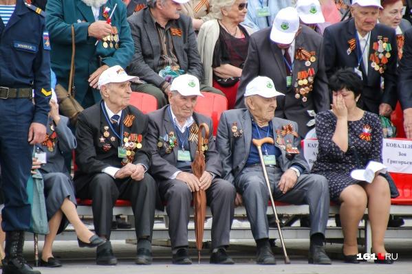 По сравнению с прошлым годом, ветераны получат в пять раз больше денег на 9 Мая
