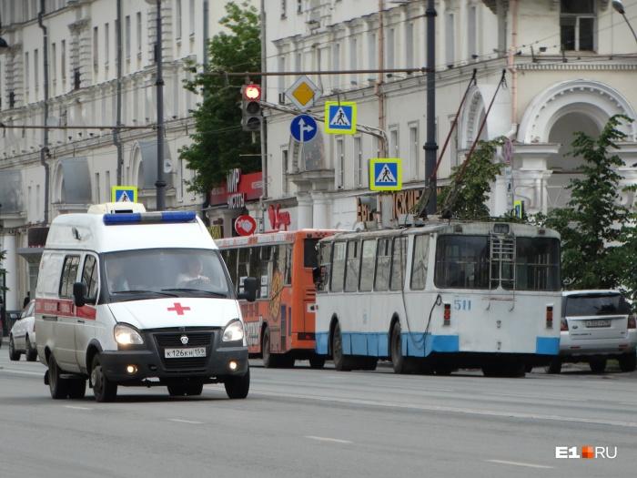 Инцидент случился, когда троллейбус ехал во Втузгородок