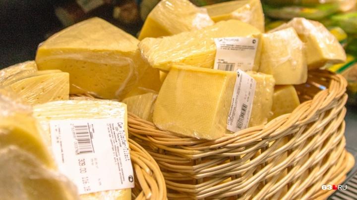 На торговых рядах в овраге Подпольщиков нашли санкционные сыры изГермании, Литвы и Италии