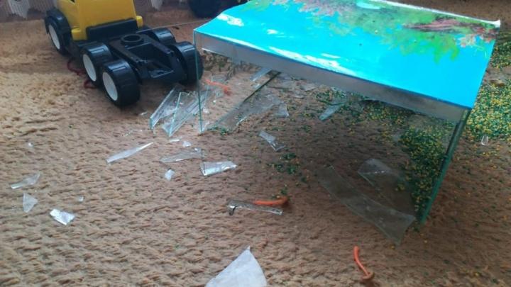 Следователи возбудили уголовное дело из-за падения аквариума на девочку в частном детском саду