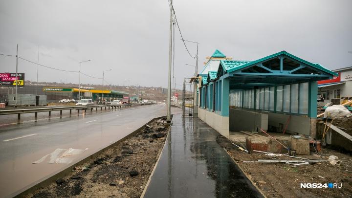 Пробки закончились: смотрим на переделанный проспект Котельникова с елочками и подземными переходами