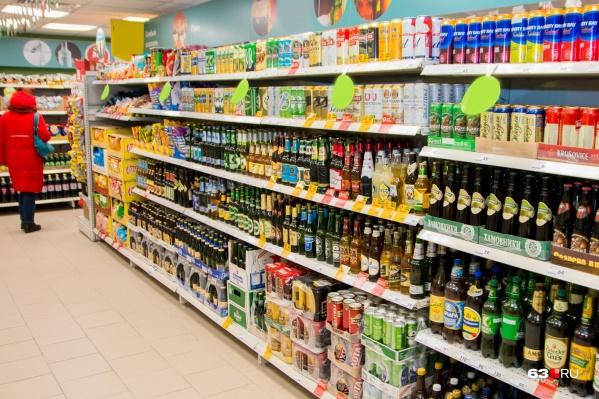 Магазинам, которые расположены в районе площади Куйбышева, запретят торговать спиртным