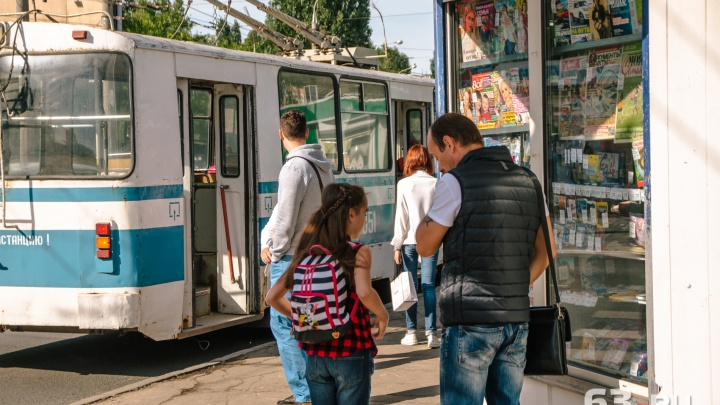 Жители Самары попросилипродлить вдоль набережной маршрут 19-го троллейбуса