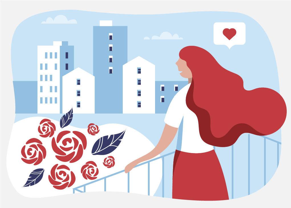 Миллион алых роз: стоимость жилья в пересчёте на цветы