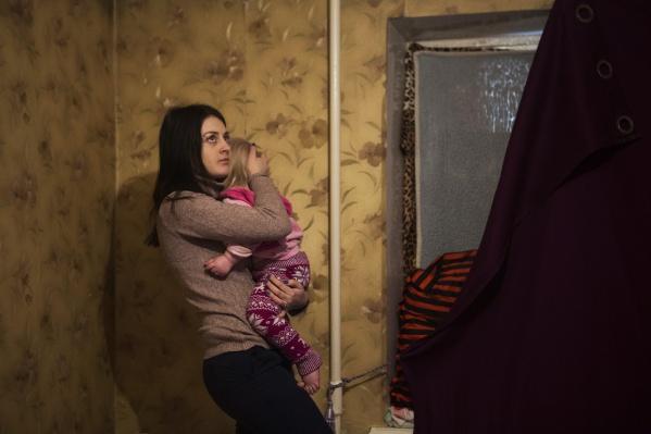 Ольге Лялиной разрешили пожить в квартире из маневренного фонда, а в той квартире, которую ей выделили, уже начали ремонт