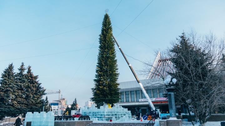 Улицу Думскую возле памятника Ленину перекроют к Новому году