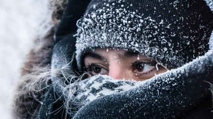 В области прогнозируют первые суровые морозы: местами температура упадёт ниже –30